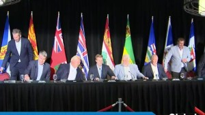 Carbon tax remains sticking point for Canada's premiers